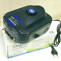 aerator pompa gelembung udara oxygen ikan hias 4 cabang amara aa-9904