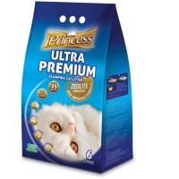 princess ultra premium cat litter 6 L (aroma baby powder)