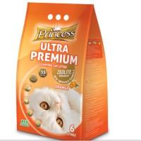 princess ultra premium cat litter 6 L (ORANGE)