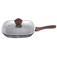 PANCI WAJAN GRILL PAN WITH LID 28 CM BERLINGER HAUS FOREST LINE