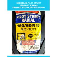 Ban MICHELIN 160/60-17 Pilot Street Radial
