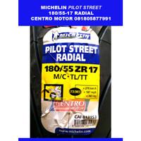Ban MICHELIN 180/55-17 PILOT STREET RADIAL