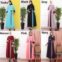 Baju Gamis Wanita Terbaru Gamis Busui Gamis Pesta Bahan Babat 9838