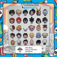 Sticker set Boku No Hero - My Hero Academia