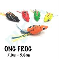 """SOFT FROGGY BLESS """"ONG FROG"""" 5cm / 7gram"""