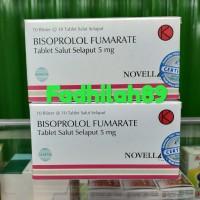 Obat Darah Tinggi Jantung - Bisoprolol. 5 Mg Novell. ORIGINAL