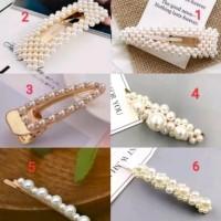 Hair Pin Pearl Clip Jepit Rambut mutiara import modis trendy cantik