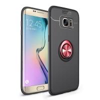 VOUNI Samsung Galaxy S7 edge case TPU Braket cincin logam magnetik sof