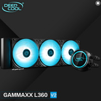 CPU Cooler DeepCool GAMMAXX L360 V2 RGB Liquid Cooler