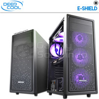 DeepCool E-Shield Tempered Glass Gaming Case
