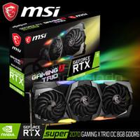 VGA MSI NVidia GeForce RTX 2070 SUPER Gaming X Trio 8GB OC GDDR6