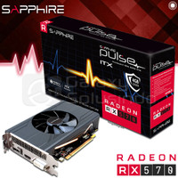 VGA SAPPHIRE PULSE Radeon RX 570 4GB ITX GDDR5