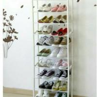 Rak Sepatu 10 susun Rak Sandal Lemari Sepatu