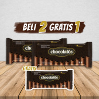 CHOCOLATOS DARK FAMILY PACK - 66gr (2 Gratis 1)