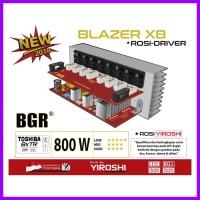 POWER BLAZER X8 ROSI 800W MONO TR TOSHIBA ASLI -POWER MONO - BELL