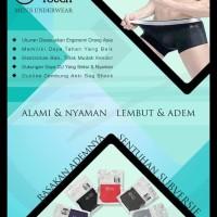 100% Celana Dalam Pria / Anti Mikroba / Man Underwear / New Generation
