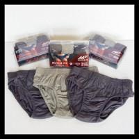 Original 1 Lusin Muscle Fit Basic Mfcd 123 Briefs-Celana Dalam Pria-