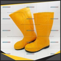 Sepatu Safety Boot Ergos Ergos Safety Boots Steel Toe PVC grab it fast
