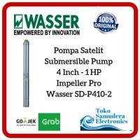 Mesin Pompa Air Celup Sumur Dalam Wasser 4 Inch - 1 HP - SD P410 - 2 a