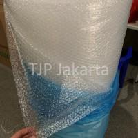 Bubble Wrap merk EKONOMIS 125 cm x 50 m bungkus biru tools equipment