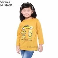 Baju Kaos Anak Cowok Cewek Lengan Panjang Garage Murah