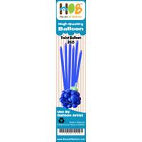 Balon Twist Pentil Latex Lateks Latex Biru Tua Blue BCA 10pcs
