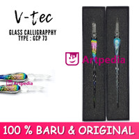 V-Tec Glass Calligraphy Type GCP 73 - Glass pen calligraphy Dip Pen