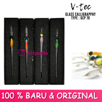 V-Tec Glass Calligraphy Type GCP 70 - Glass pen calligraphy Dip Pen