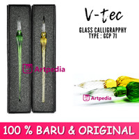 V-Tec Glass Calligraphy Type GCP 71 - Glass pen calligraphy Dip Pen