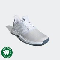 Sepatu Tenis Adidas Game Court WHITE GREY / Sepatu Adidas Game Court