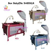 BabyElle 9A89XLR /Red /Blue /Beige /Baby Box Ranjang Tempat Tidur Bayi