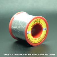 Timah Solder ERKE 0,8 mm 60/40 Alloy 250 Gram
