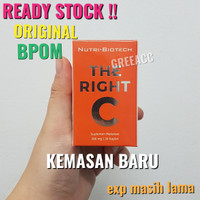 THE RIGHT C Nutri Biotech Vitamin C 300mg 30 kapsul Suplemen 300 mg