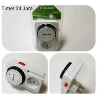 Colokan Stop Kontak Timer Analog mekanik On/Off otomatis 24 jam MURAH