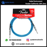 Kabel instrumen fender california series 10ft (3m)