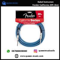 kabel instrumen fender california series 20ft (6m)