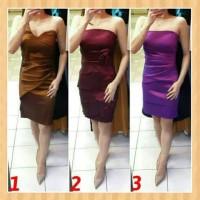 baju anak 12-17thn perempuan mini dress gaun pesta natal purple