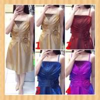 baju anak 14-23thn perempuan gaun pesta natal party dress maxi purple