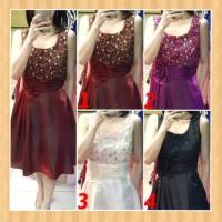 baju dress anak 13-22thn perempuan gaun party pesta natal maxi hitam