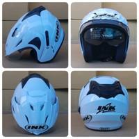 Helm INK CX22 Double Visor KW Putih