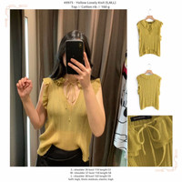 Yellow Lovely Knit (S,M,L) Top -49975