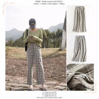 Khaki Loose Grid (S,M,L) Pants -49960
