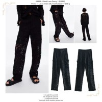 Black Lace Fancy 1 (S,M,L) Pants -49829