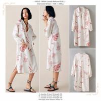 White Lovely Nature (S,M,L) Oversized Dress -49952