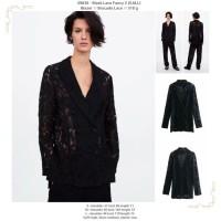 Black Lace Fancy 2 (S,M,L) Blazer -49830