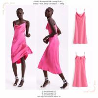 Rosepink Silk Lovely (S,M,L) Dress -49996