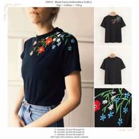 Black Fancy Embroidery (S,M,L) Top -49914
