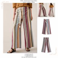 Mixed Color Stripe (S,M,L) Pants -49934
