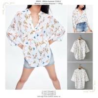 White Summer (S,M,L) Blouse -49844
