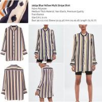 Blue Yellow Multi Stripe Shirt (size S,M,L) -26634